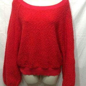 Women's NWT size Medium RUE21 Sherpa sweatshirt